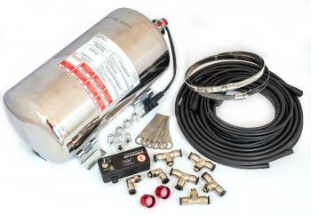 Feuerlöschanlage, 4,25 kg, Aluminium